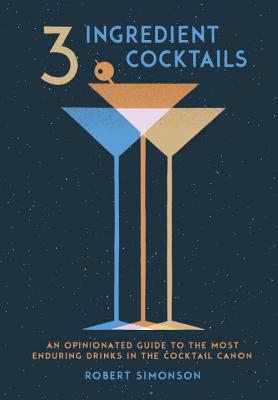 3 Ingredient Cocktails Book Cover