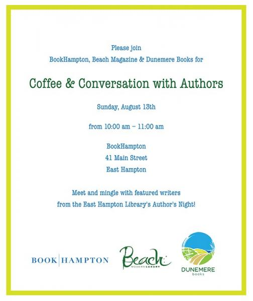 Book Hampton Coffee & Conversation Event Flyer
