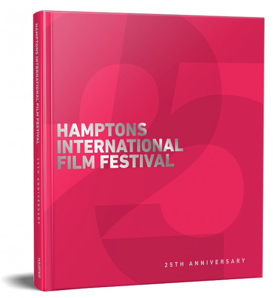 The Hamptons International Film Festival Hardcover Commemorative Book