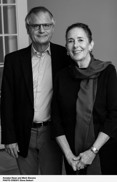 Mark Stevens and Annalyn Swan author photo