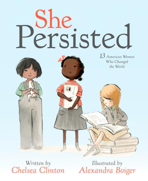 She Persisted Chelsea Clinton Cover
