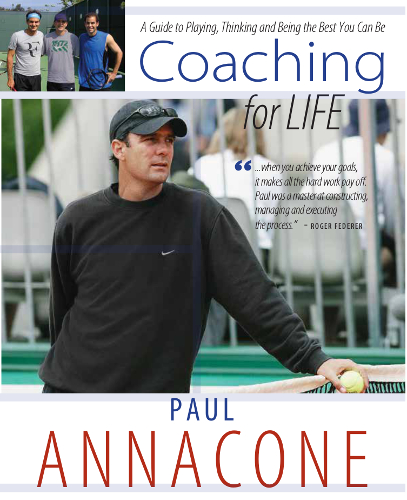 Paul Annacone Coaching for Life Book Cover