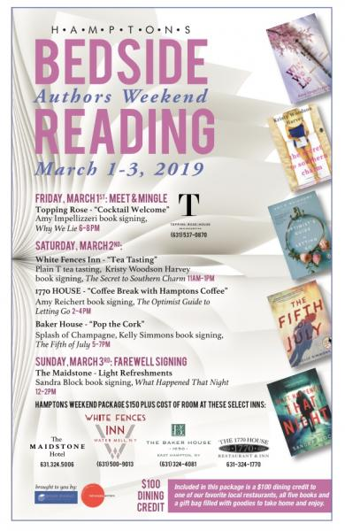 Hamptons Authors Weekend